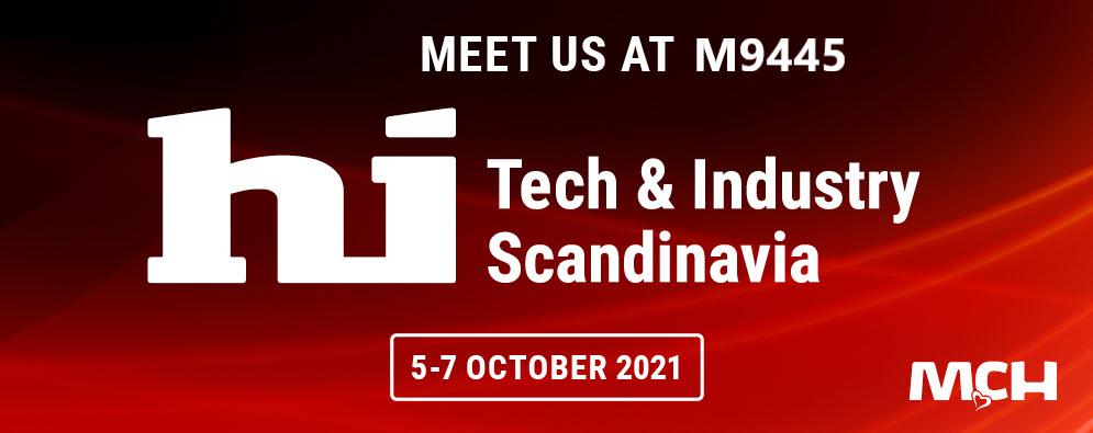 Kjaerulf Pedersen a/s at Scandinavia's technology & industry expo